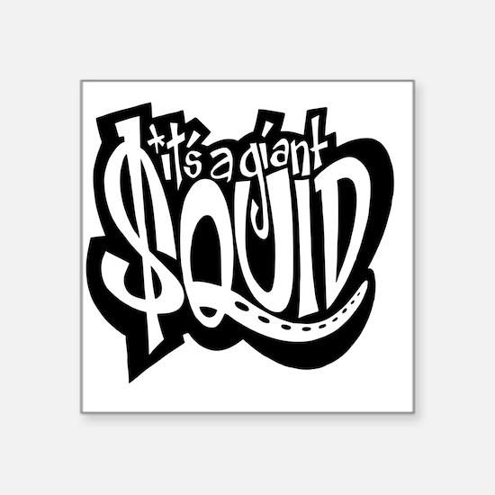 "$quid: The Movie T-Shirt! Square Sticker 3"" x 3"""