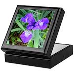 Siberian Iris Keepsake Box