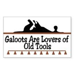 Galoots Rectangle Sticker