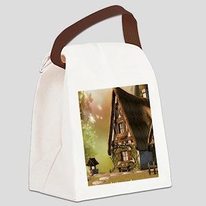 wvu-ipad Canvas Lunch Bag