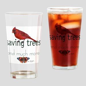 Saving Trees Drinking Glass