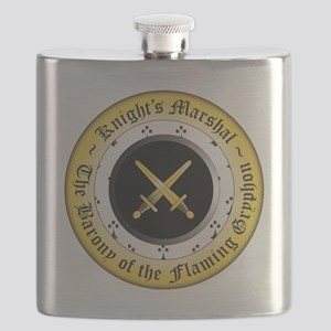 Knights Marshal Flask