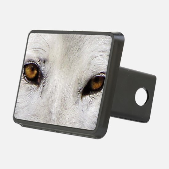 WOLF WHITE Hitch Cover