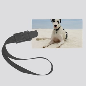 GD beach post Large Luggage Tag