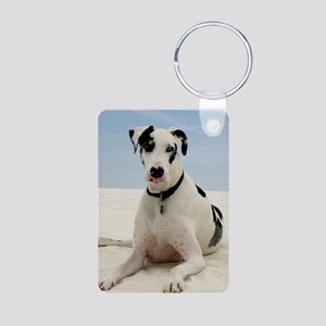 GD beach 3G Aluminum Photo Keychain