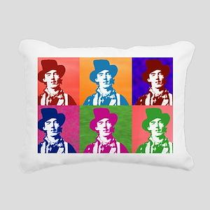 Warhol Billy Rectangular Canvas Pillow