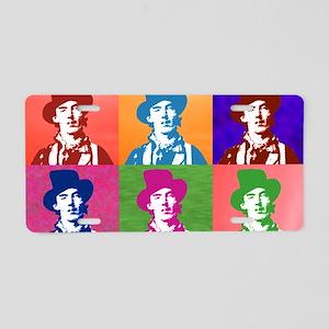 Warhol Billy Aluminum License Plate