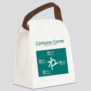 10x10 ConfusionCorner Canvas Lunch Bag