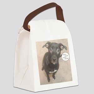 Lab Mix Canvas Lunch Bag