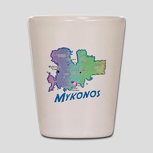 mykonos_t_shirt_map Shot Glass