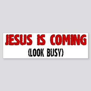 Jesus Sticker (Bumper)