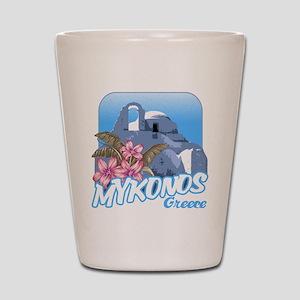 mykonos_t_shirt_paraportiani Shot Glass
