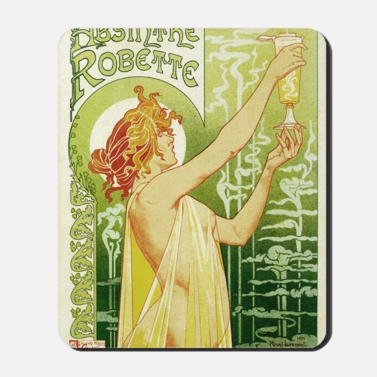 absinthe Robette 11x17 Mousepad