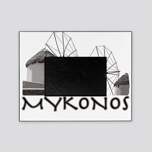 mykonos_t_shirt_windmills Picture Frame