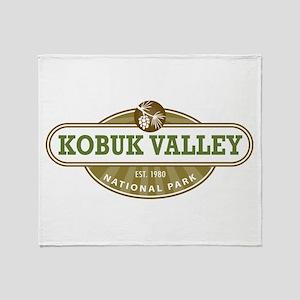 Kobuk Valley National Park Throw Blanket