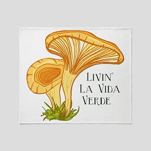 La Vida Verde Throw Blanket