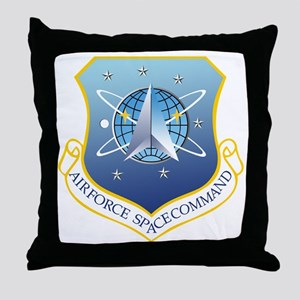 Air Force Space Command Throw Pillow