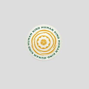 Human Kind Yellow Mini Button