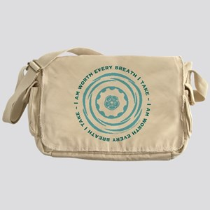 Worth Breath Teal Messenger Bag
