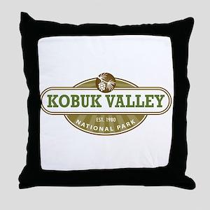 Kobuk Valley National Park Throw Pillow