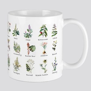 Herbs and Spices Illustrated 11 oz Ceramic Mug