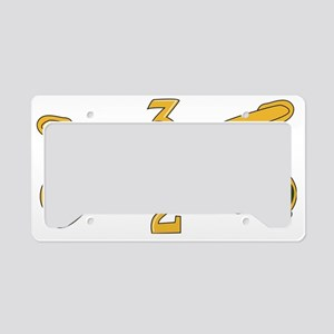 2-3D ARMORED CAVALRY REGIMENT License Plate Holder