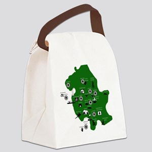 map Canvas Lunch Bag