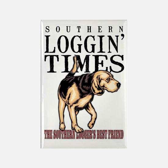 Logger's Best Friend Rectangle Magnet
