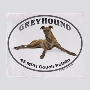 GVV 40MPH Couch Potato Throw Blanket