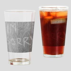 eternalapology Drinking Glass