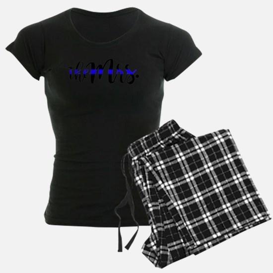 Thin Blue Line - The Mrs Pajamas