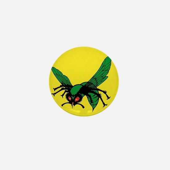 greenhornet_masklogo Mini Button