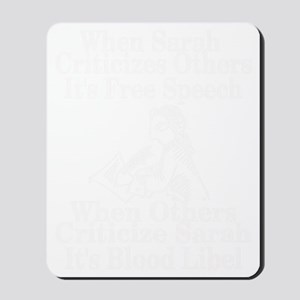free speech_edited-1 Mousepad