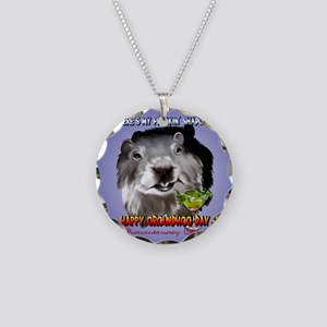 Punxsutawney Phils Shadow-Ci Necklace Circle Charm