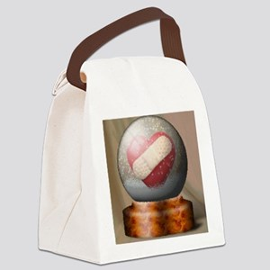 snowglobeoil Canvas Lunch Bag