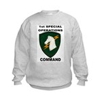 1st Special Operations Command Kids Sweatshirt