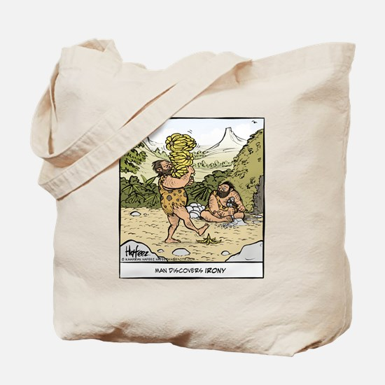 Early Irony Final Tote Bag