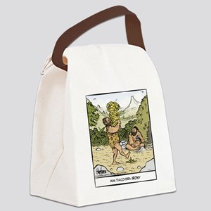 Early Irony Final Canvas Lunch Bag