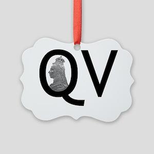 QV pocket Picture Ornament
