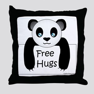 free hugs Throw Pillow