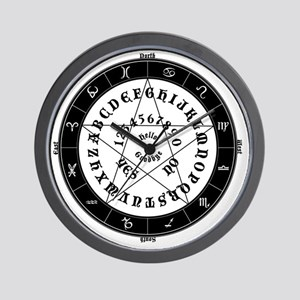 Black on White Tee Roung Wall Clock