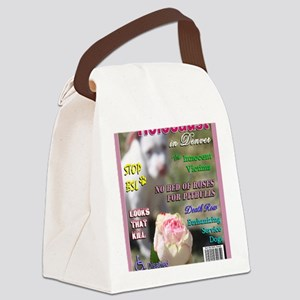 Denver BSL Roses Luna copy Canvas Lunch Bag