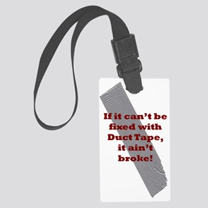 if it cant be fixed Large Luggage Tag