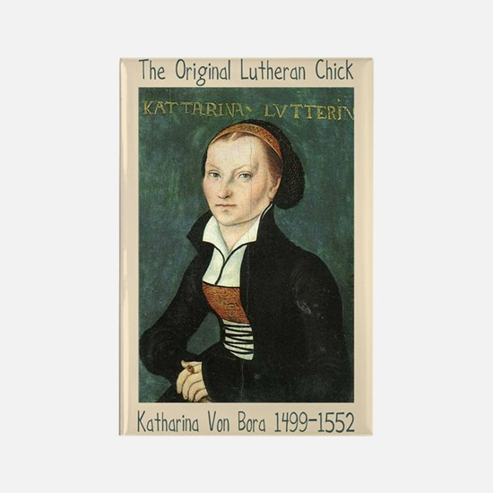 The Original Lutheran Chick Magnet