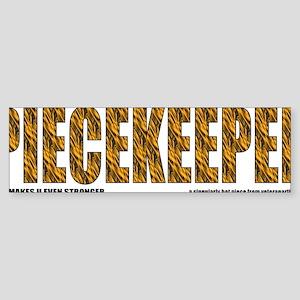 print-piecekeeper-flames1 Sticker (Bumper)