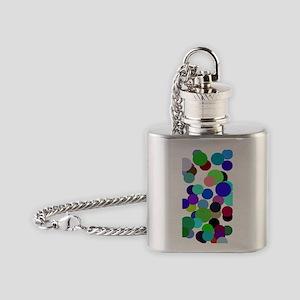 Pollock Colin Balls 545 trans Flask Necklace