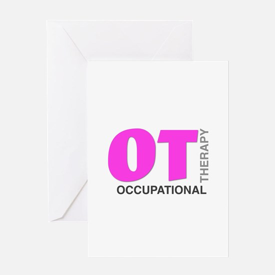 PINK OT Greeting Cards