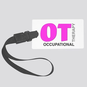 PINK OT Luggage Tag
