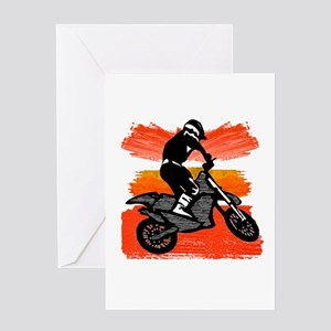 MX FIRED UP Greeting Cards