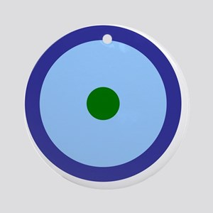 Aquarius Libra Virgo Round Ornament